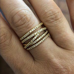 Stella & Dot Stellar Pavé Ring